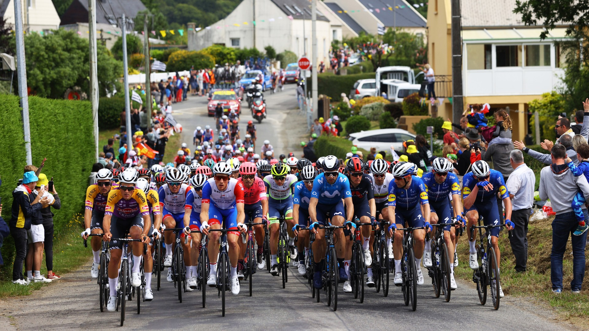 Photo of 2021 Tour de France: Signed fan caused a major accident; what does'allez opi-omi' mean?