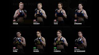 EA Sports UFC 2 Women's Bantamweight