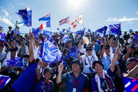 2018日本GPを観戦するトロロッソファン