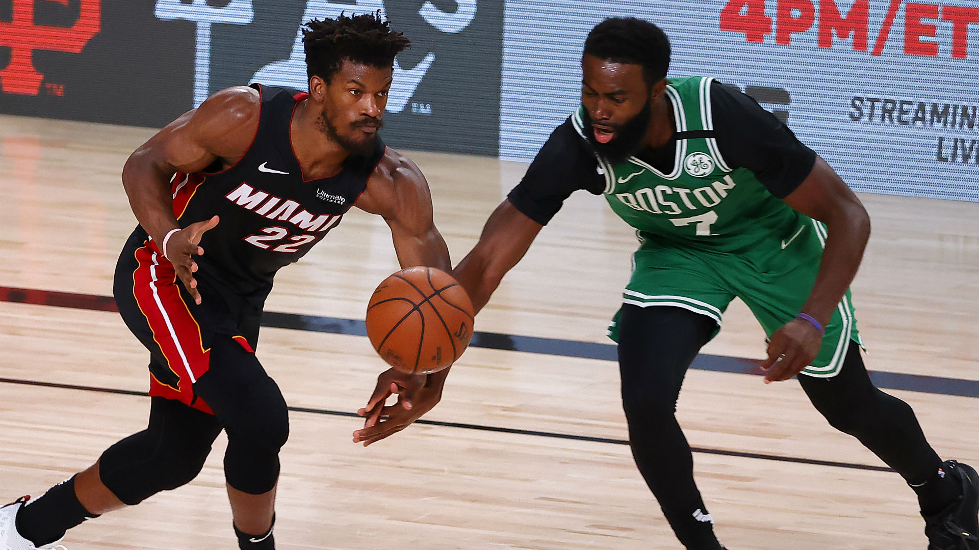 Forceful Jaylen Brown sets tone for Celtics in Game 3 win over Heat
