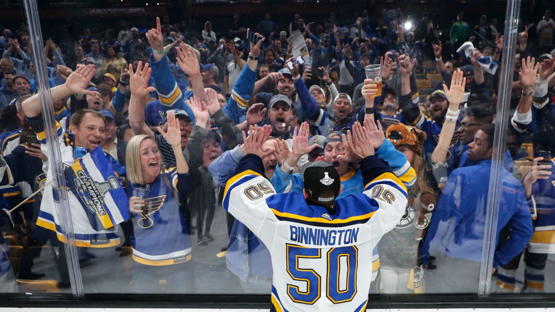 St Louis The Blues And The Stanley Cup Come Together In Perfect