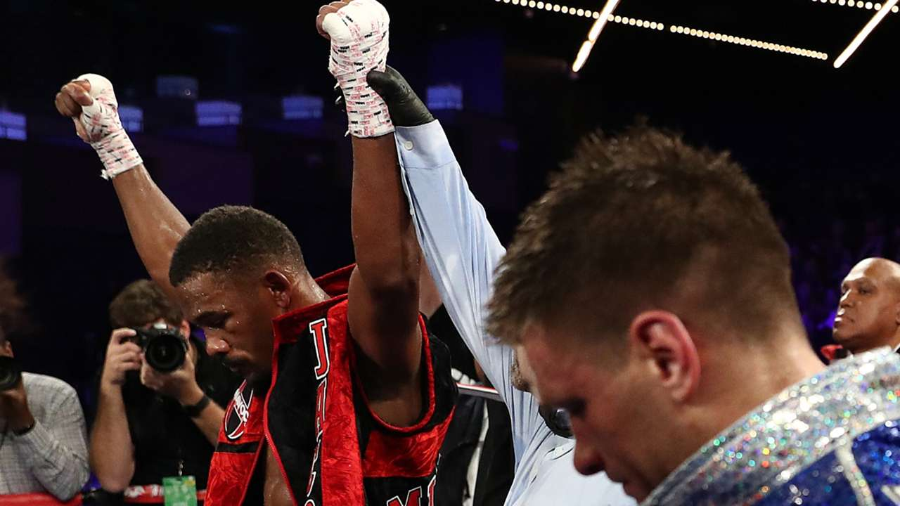 Danny Jacobs and Sergiy Derevyanchenko