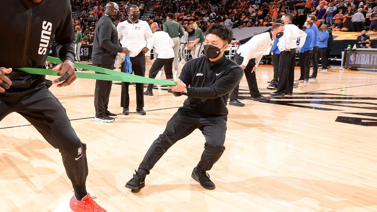 玉川康平 フェニックス・サンズ Kohei Tamagawa Phoenix Suns