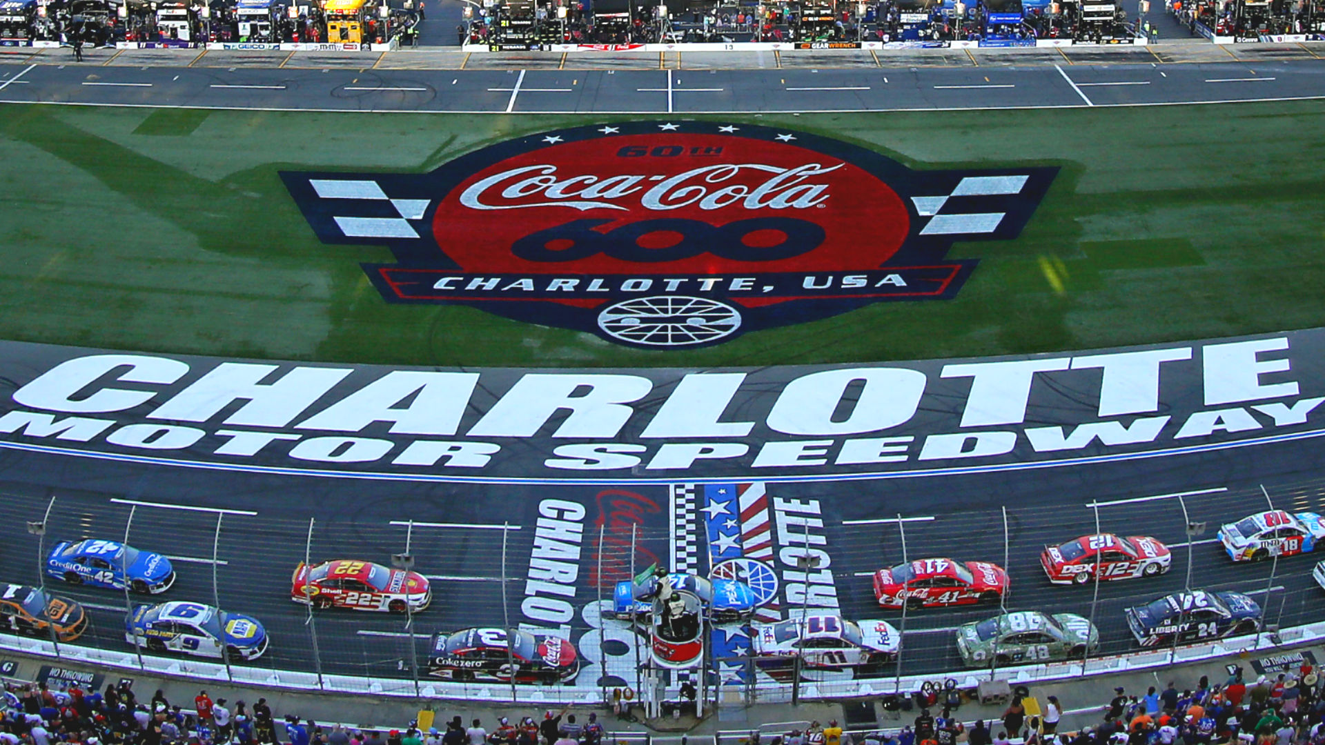 What channel is NASCAR on today? TV schedule, start time for Coca-Cola 600 at Charlotte