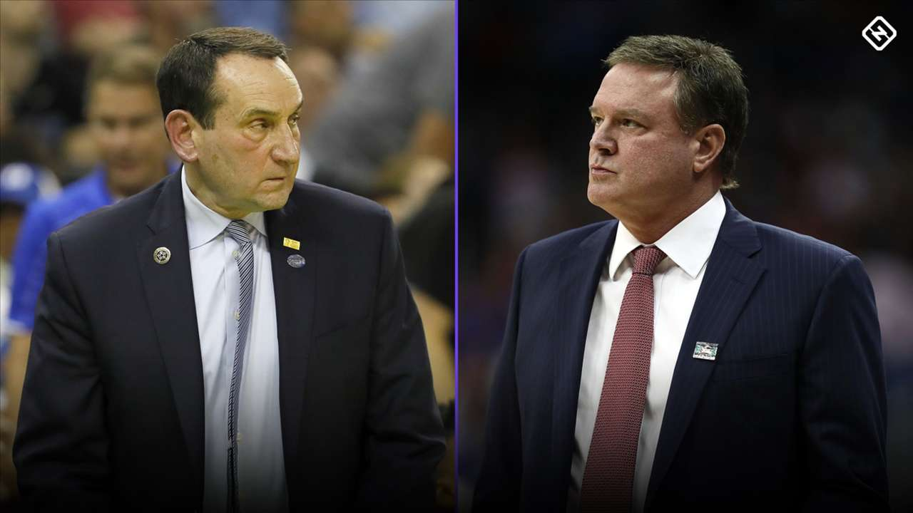Mike Krzyzewski-Bill Self-031220-GETTY-FTR