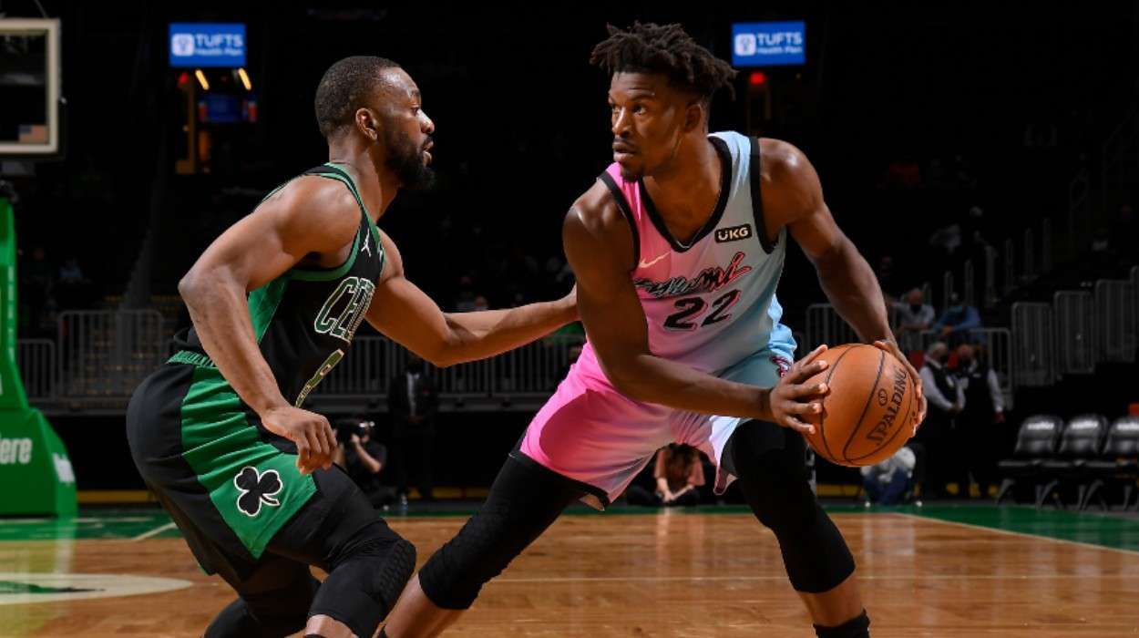 Kemba Walker Boston Celtics Jimmy Butler Miami Heat