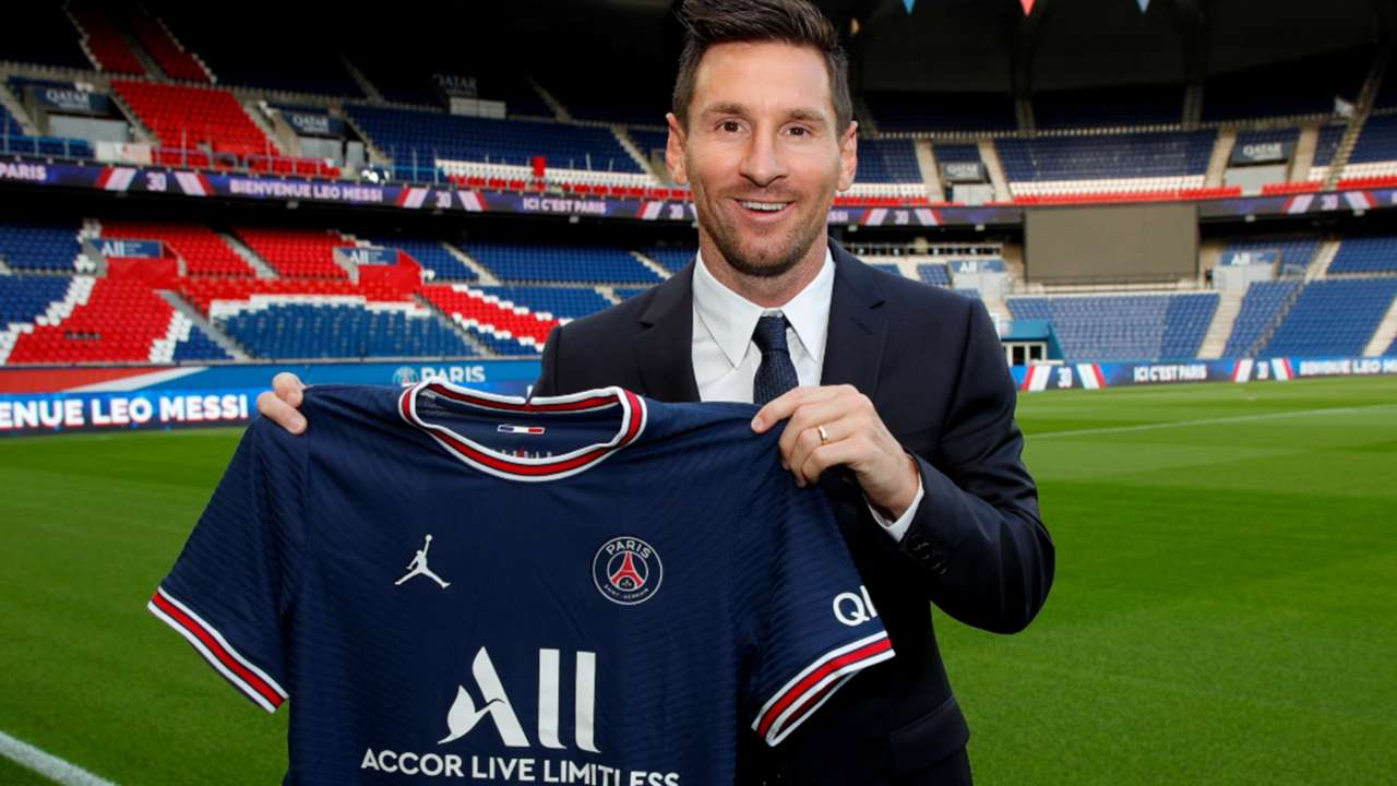 Lionel Messi - PSG jersey - August 10, 2021