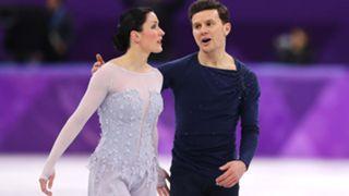 Charlene Guignard and Marco Fabbri of Italy