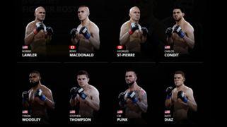 EA Sports UFC 2 Welterweights