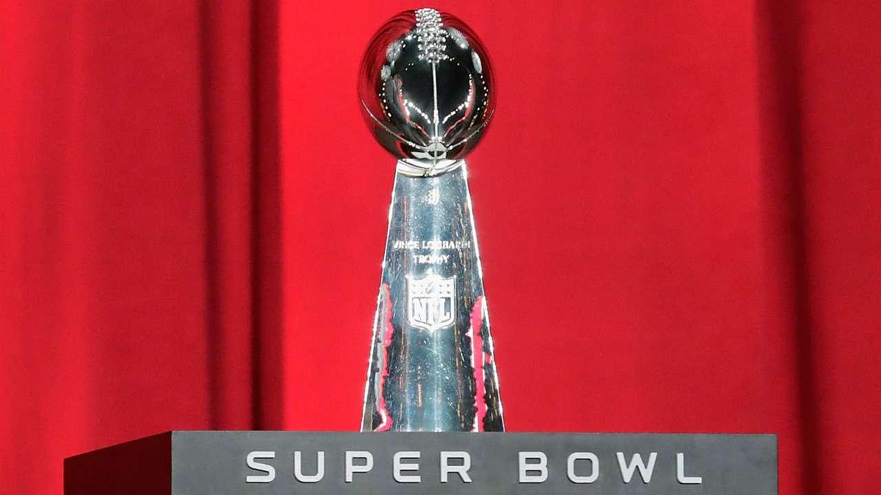 Super Bowl trophy