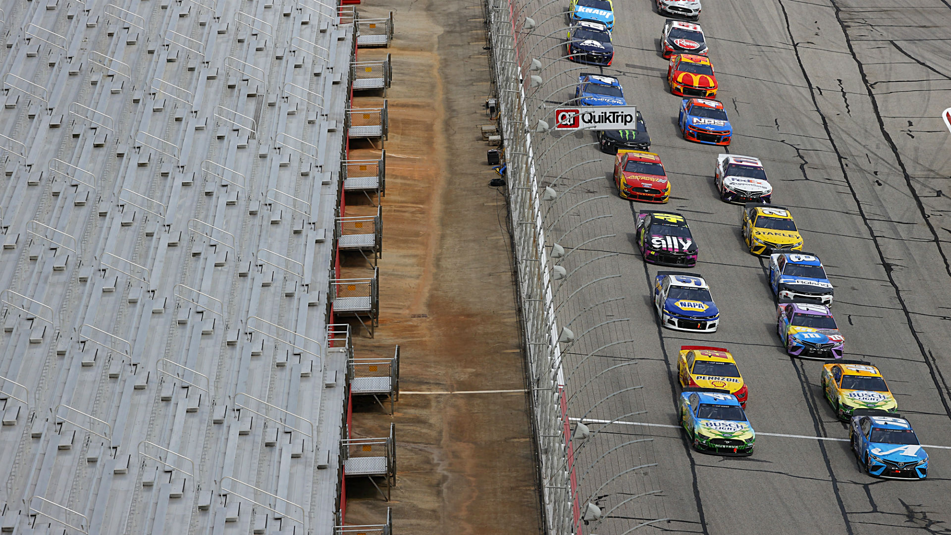 Who won the NASCAR race yesterday? Full results for Sunday's Folds of Honor QuikTrip 400 at Atlanta 1
