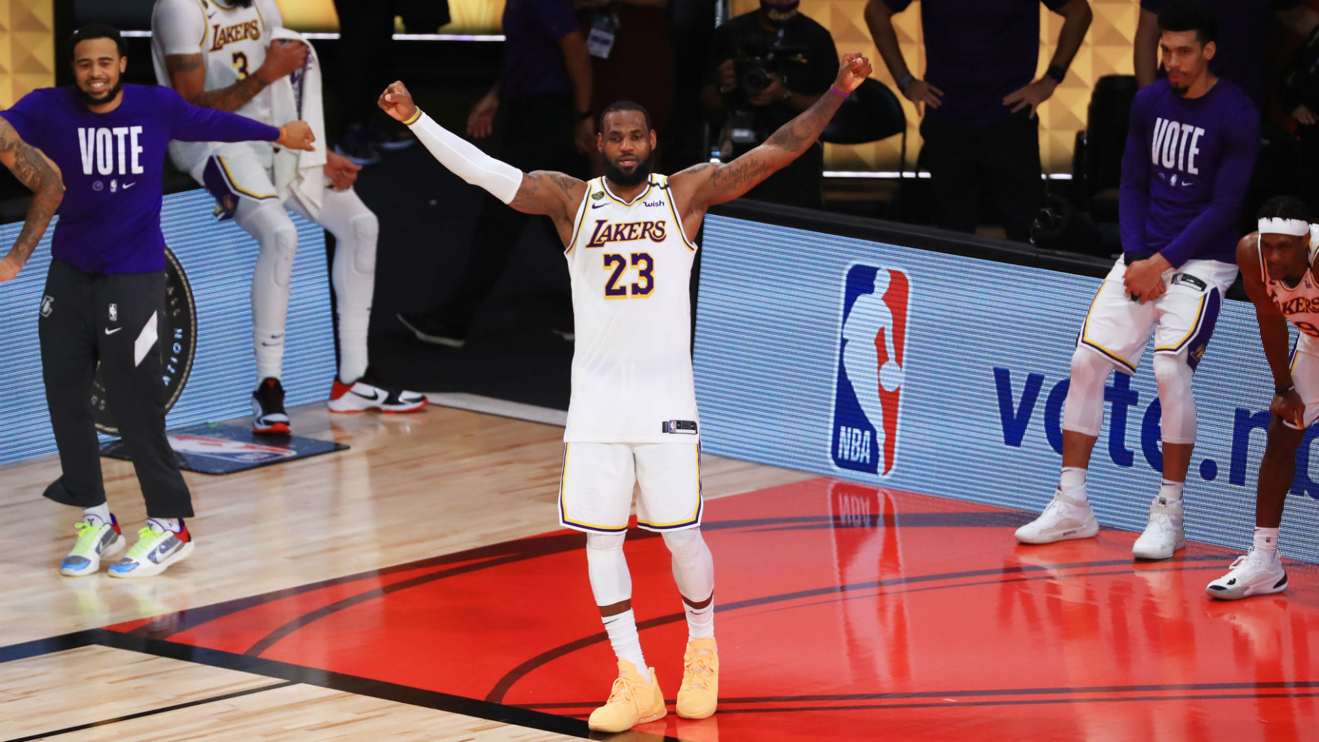 Lakers Vs Heat Final Score Results Los Angeles Wins 2020 Nba Championship In Dominant Game 6 Sporting News