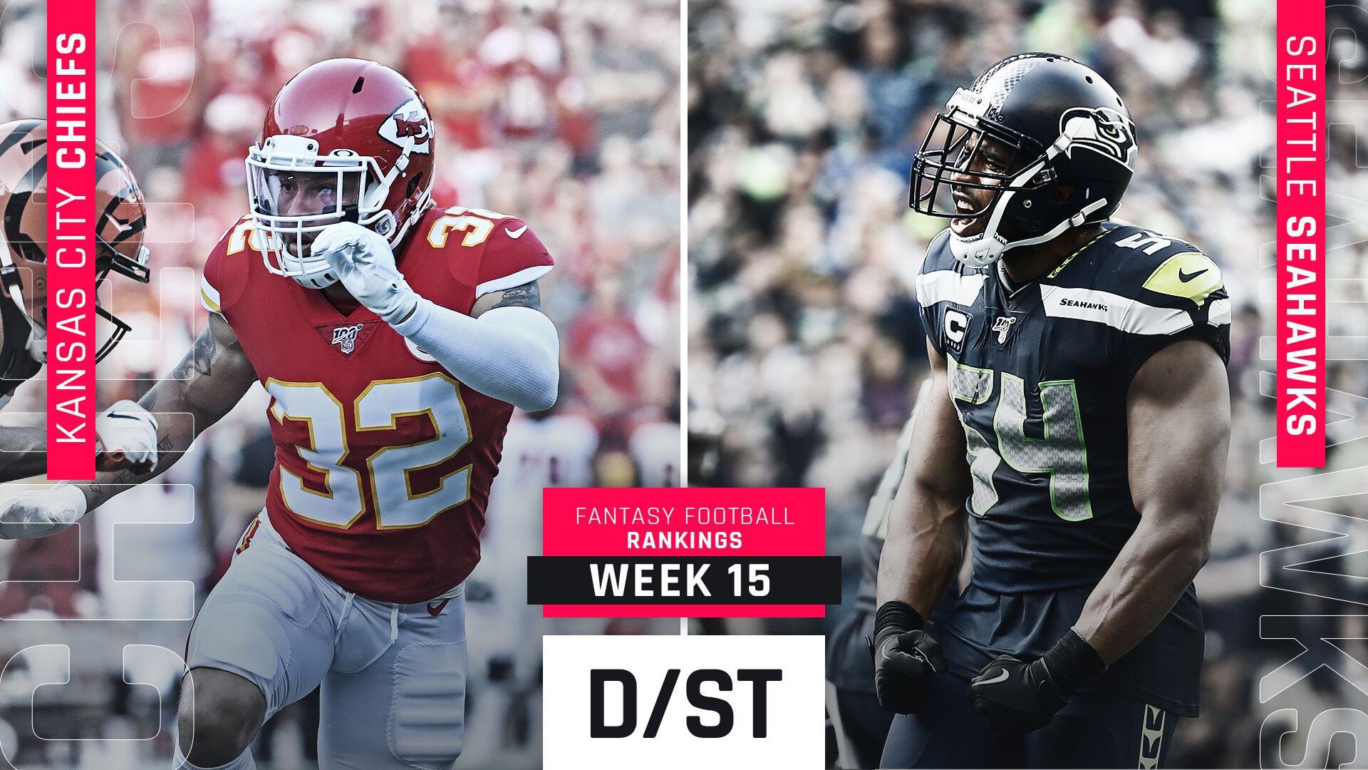 Week 15 Fantasy Rankings: Defense
