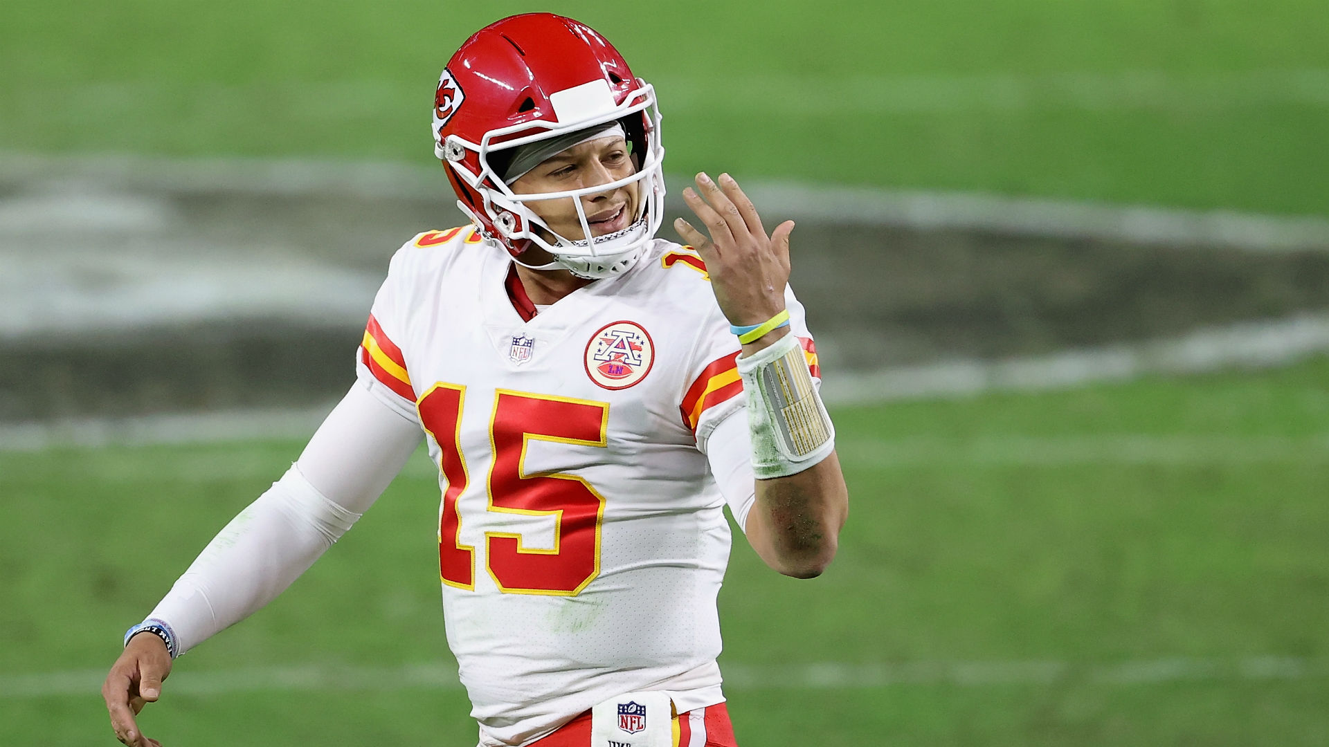 Patrick Mahomes injury update Chiefs QB practices on Wednesday playoff status still unclear