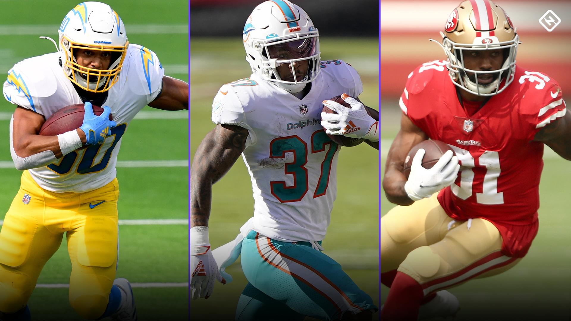 Fantasy Injury Updates: Austin Ekeler, Myles Gaskin, Raheem Mostert, more RBs affecting Week 12 start 'em, sit 'em decisions