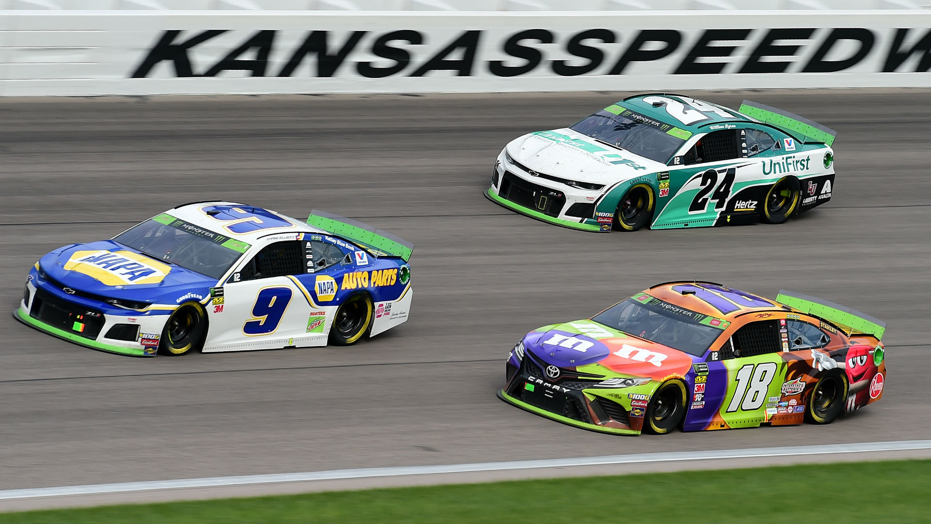 What channel is NASCAR on today? TV schedule, start time for Kansas race
