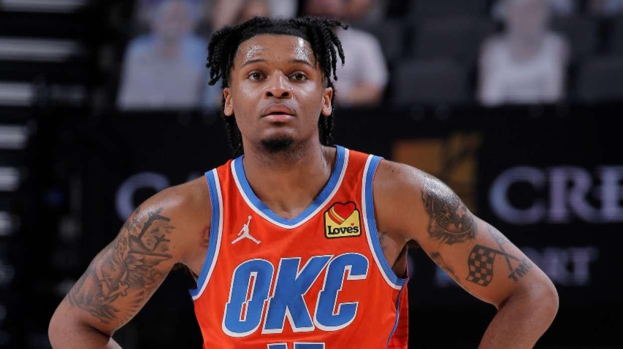 Josh Hall Oklahoma City Thunder