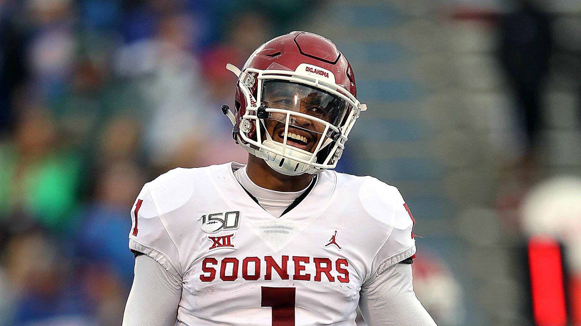 To beat Texas, Oklahoma's Jalen Hurts