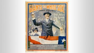 1917 World Series program