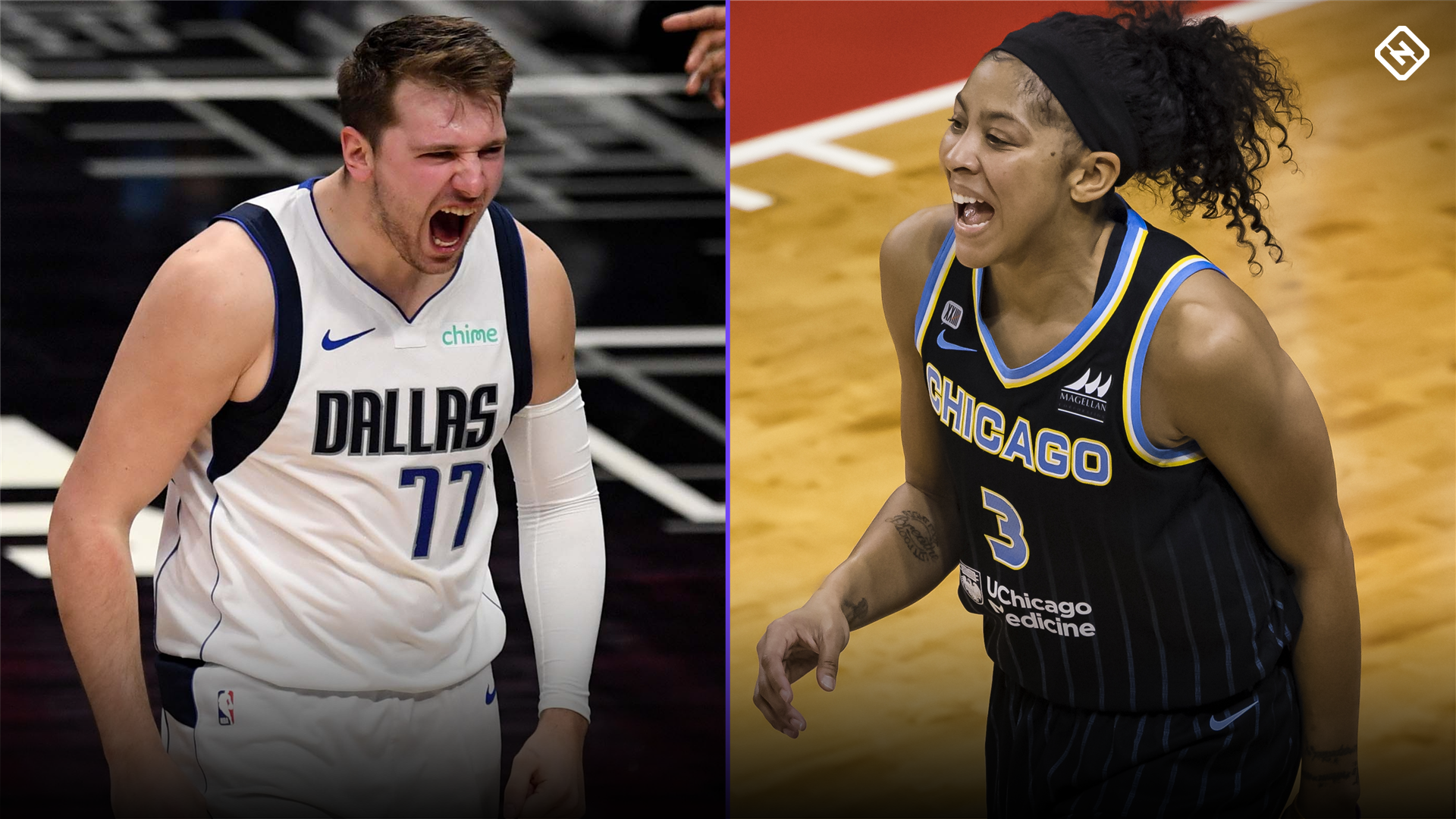 Who Are The Nba 2k22 Cover Athletes Luka Doncic Candace Parker Highlight Five Chosen Players Sporting News