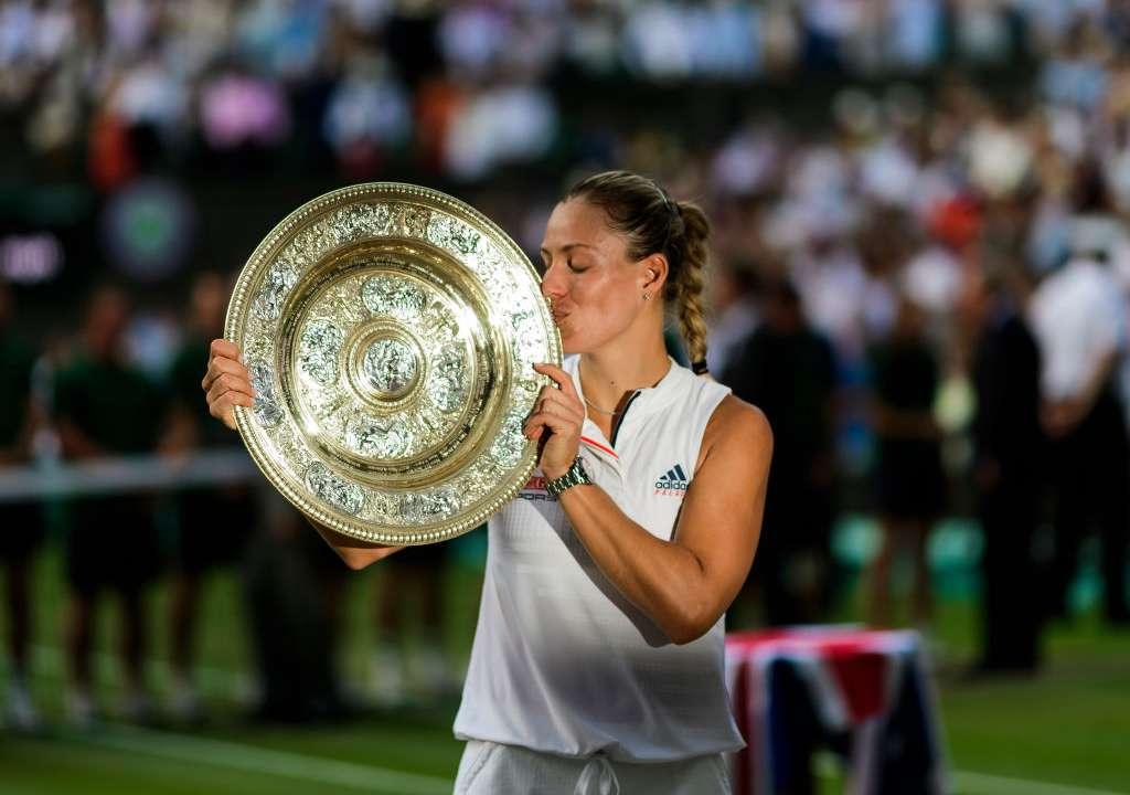 アンジェリク・ケルバー、ウィンブルドン女子シングルス準決勝、2018