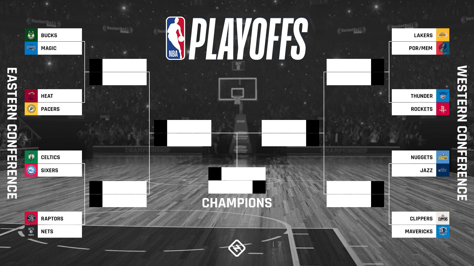 NBA playoff bracket predictions, picks, odds & series ...