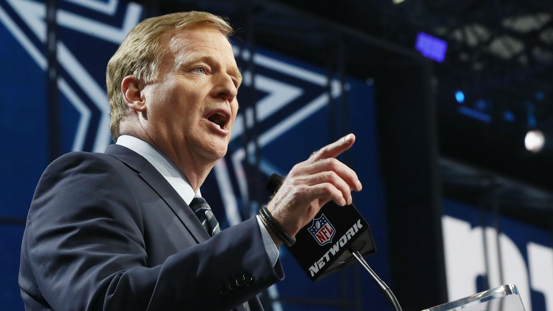 Roger Goodell quiere que te calles para cambiar la fecha del Draft de la NFL 54