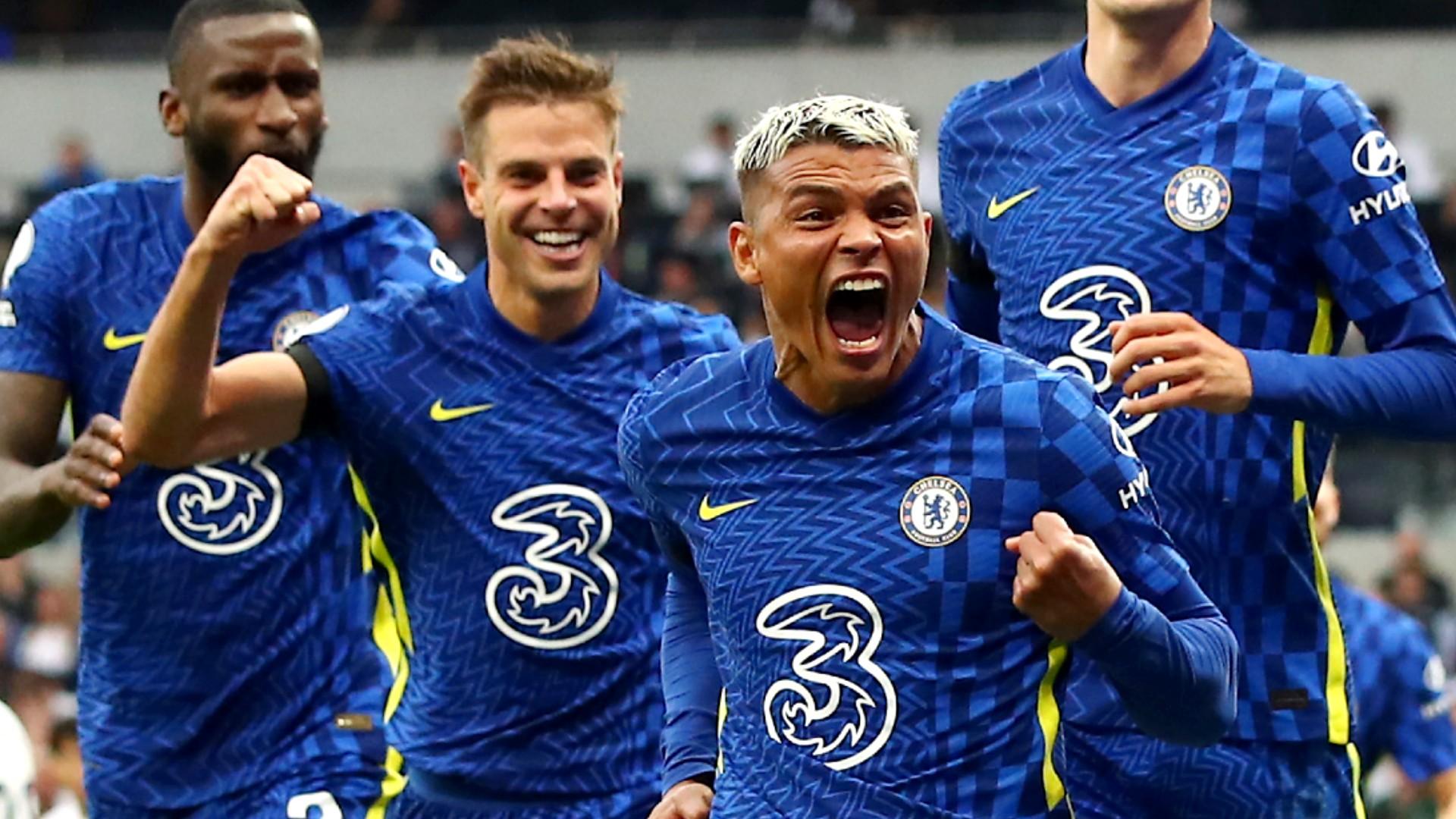 Tottenham vs. Chelsea result: Thiago Silva, N'Golo Kante and Antonio Rudiger score in London derby win