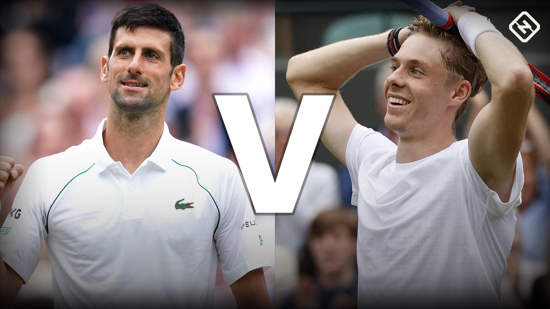 What channel is Novak Djokovic vs. Denis Shapovalov? TV coverage, live stream for Wimbledon semifinals
