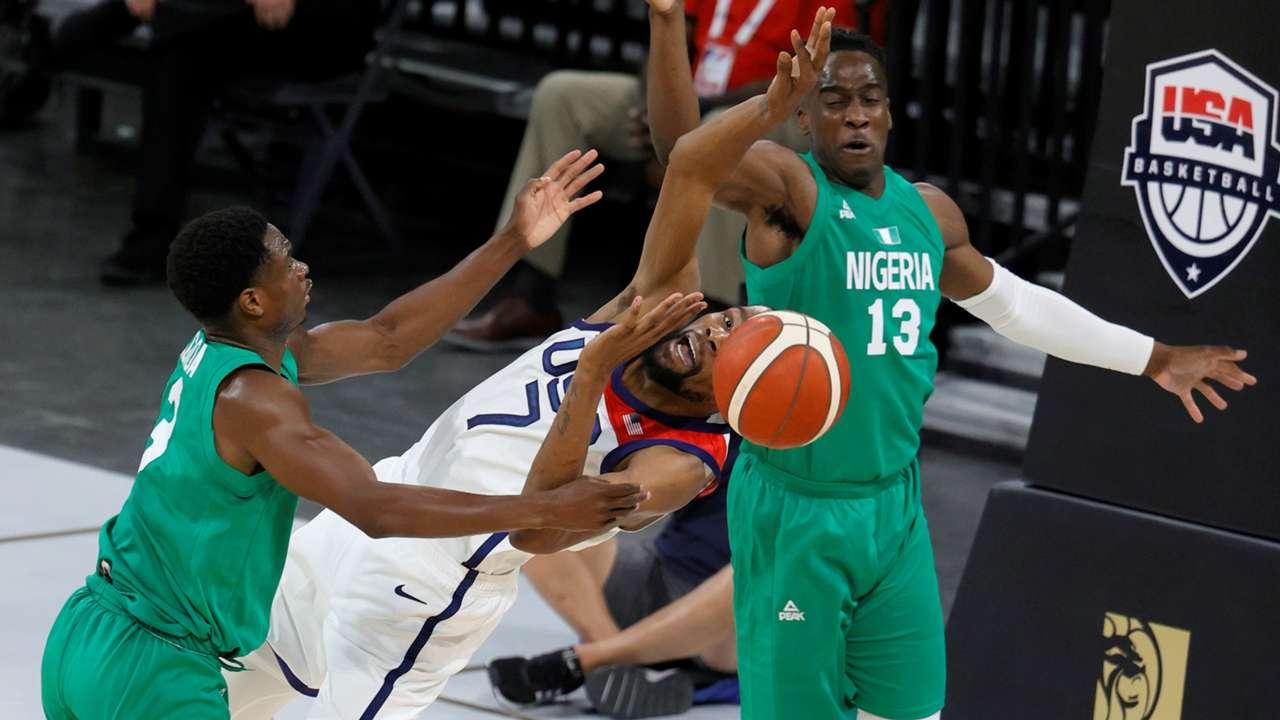 親善試合 アメリカ代表対ナイジェリア代表