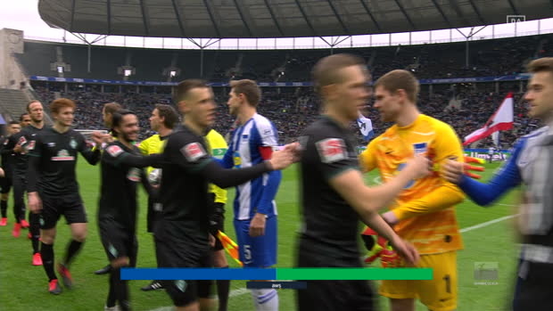 Bundesliga: Hertha BSC - Werder Bremen | DAZN Highlights