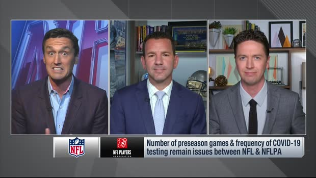 Pelissero: NFL, NFLPA at a 'critical juncture' in determining preseason protocols