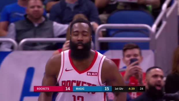 WSC: James Harden with 54 Points vs. Orlando Magic