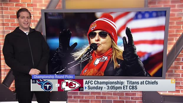Peter Schrager: Daniel Sorensen will spark a Kansas City Chiefs victory vs. Tennessee Titans in AFC Championship Game