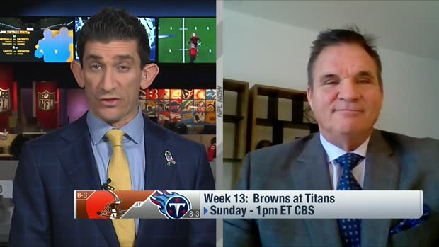 Brian Baldinger's film breakdown of Browns', Titans' run games