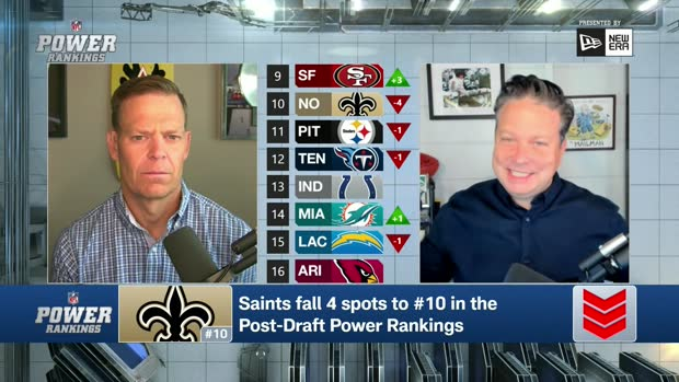 Hanzus: Why Saints sank to No. 10 in post-draft power rankings
