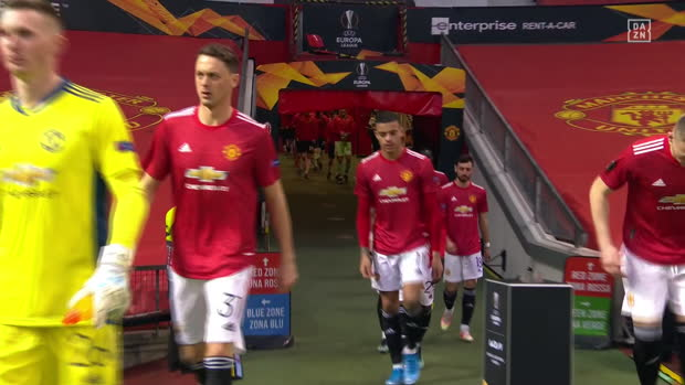 UEFA Europa League: Man United - AC Mailand | DAZN Highlights