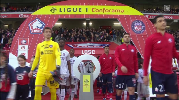 Ligue 1: Lille - Toulouse | DAZN Highlights