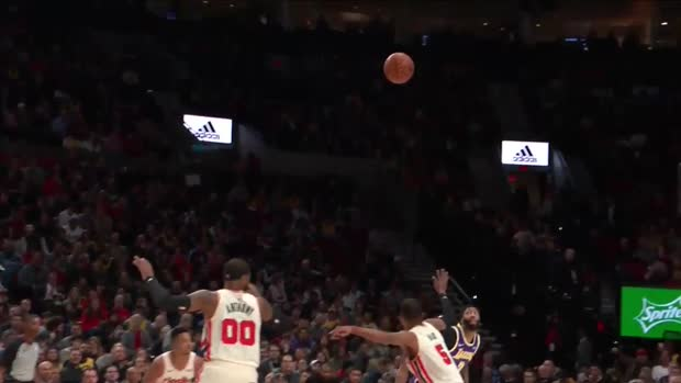 WSC: Anthony Davis with 39 Points vs. Portland Trail Blazers