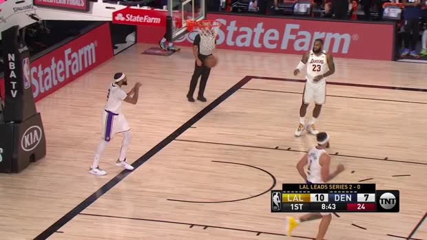 WSC: Jamal Murray with 12 Assists vs. Los Angeles Lakers