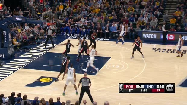 GAME RECAP: Pacers 106, Blazers 100