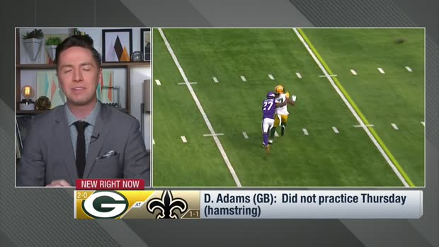 Pelissero: Davante Adams missed third straight practice, likely out Week 3