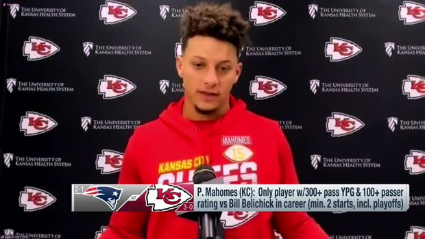 Mahomes previews Week 4 matchup against Patriots