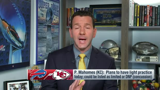 Rapoport offers update on Mahomes' status ahead of AFC championship