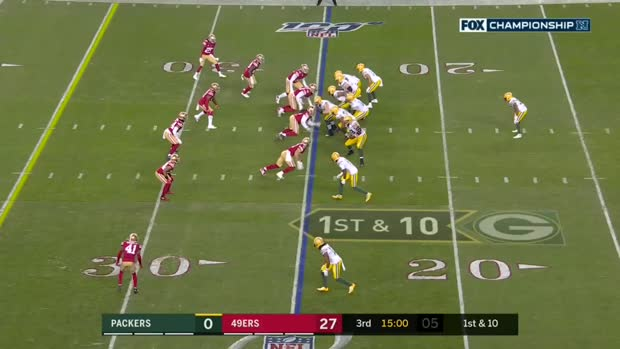 Every Davante Adams catch from 138-yard game | NFC Championship Game