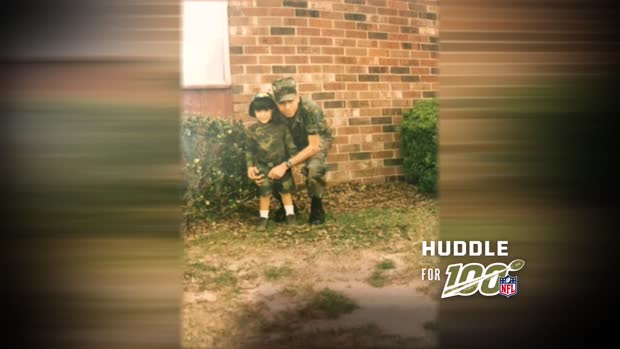 Huddle for 100: Seattle Seahawks LB Shaquem Griffin writes letter to a disabled military veteran and Paralympic athlete Orlando Perez