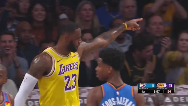WSC: LeBron James posts triple double vs. OKC