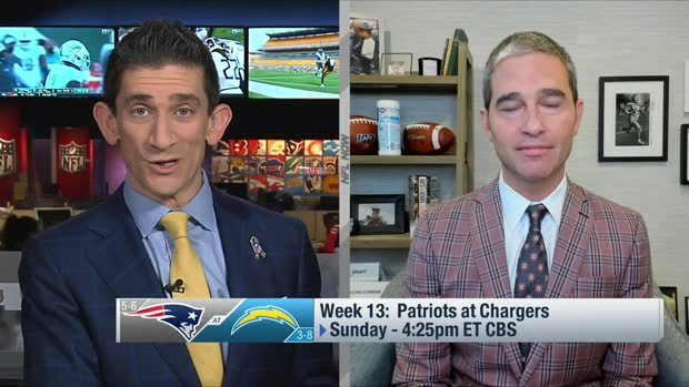 Giardi: Top storylines for Patriots-Chargers in Week 13