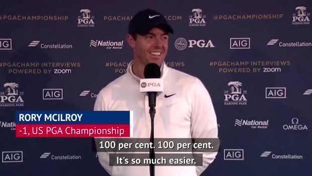 Absence of fans makes it '100 per cent' easier to play with Tiger - McIlroy