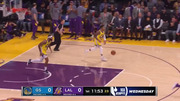 WSC: LeBron James 12 assists vs Warriors